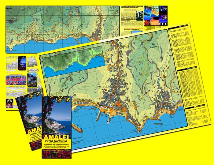 Cart&guide - le cartine e le guide turistiche della Costiera Amalfitana, ...